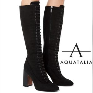 🆕Aquatalia Waterproof To The Knee Lace Up Boot